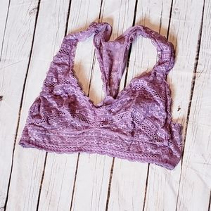 Victoria's Secret Bralette Lilac Purple Size Large